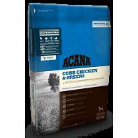 ACANA COBB CHICKEN & GREENS (АКАНА ЦЫПЛЕНОК с ЗЕЛЕНЬЮ) - сухой корм для собак всех пород и возрастов