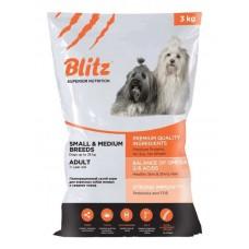 BLITZ ADULT MEDIUM & SMALL BREED (Эдалт Медиум Энд Смол Брид) – сухой корм для взрослых собак средних и мелких пород