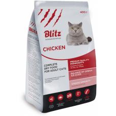 BLITZ CHIKEN ADULT CAT (КУРИЦА) – сухой корм для взрослых кошек всех пород