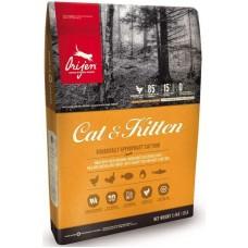 ORIJEN CAT & KITTEN 85.15 (ОРИДЖЕН КЭТ ЭНД КИТЕН) - сухой корм для кошек и котят всех пород